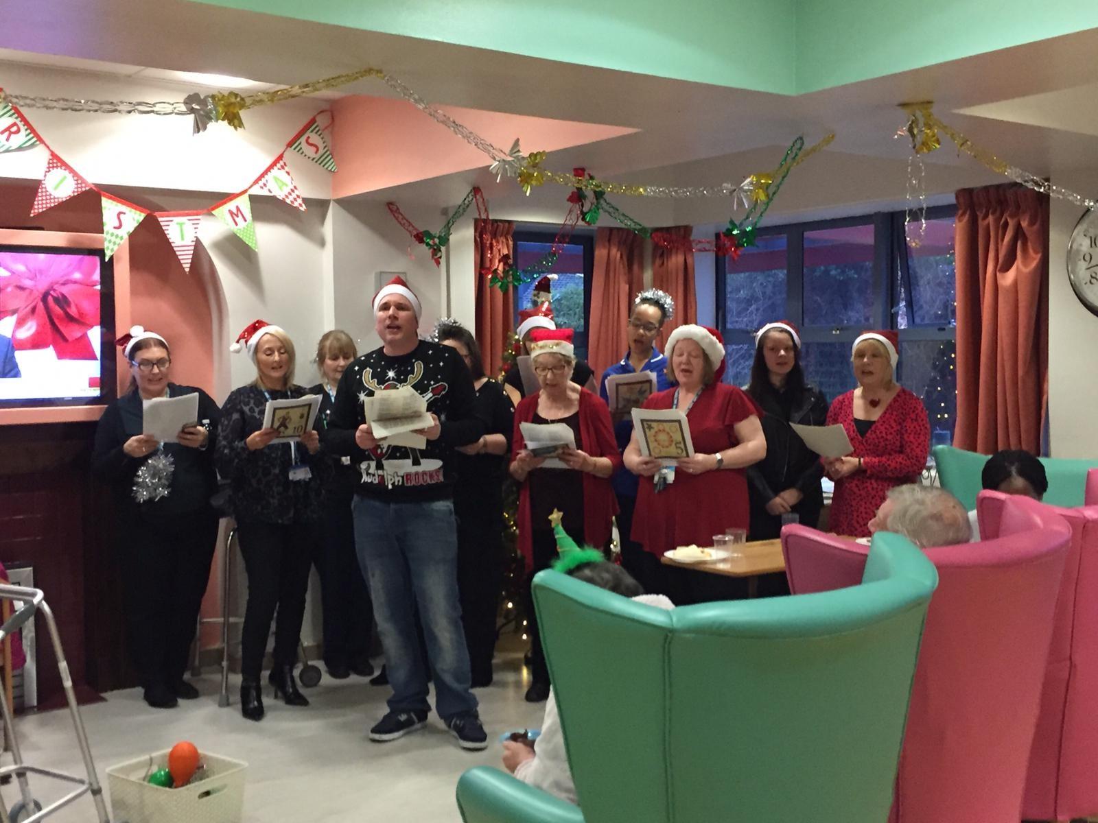 Sanjhi Sewa Christmas Party for NHS Chance ward residents Thumbnail